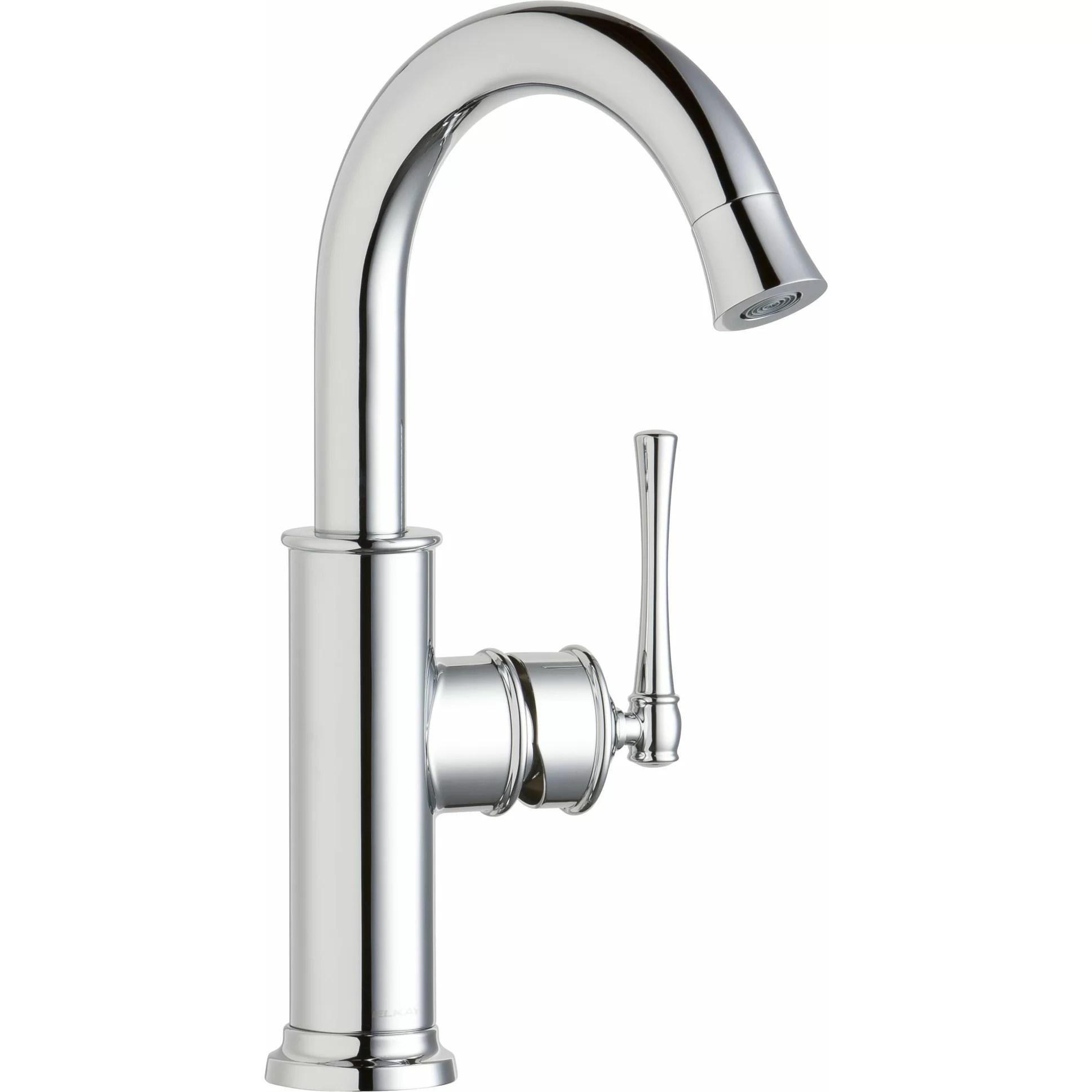 Elkay Explore Single Handle Deck Mount Kitchen Faucet