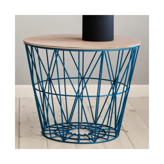 ferm living wire basket top by trine andersen for scantrends