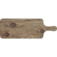 Photoreal Wood Paddle Serving