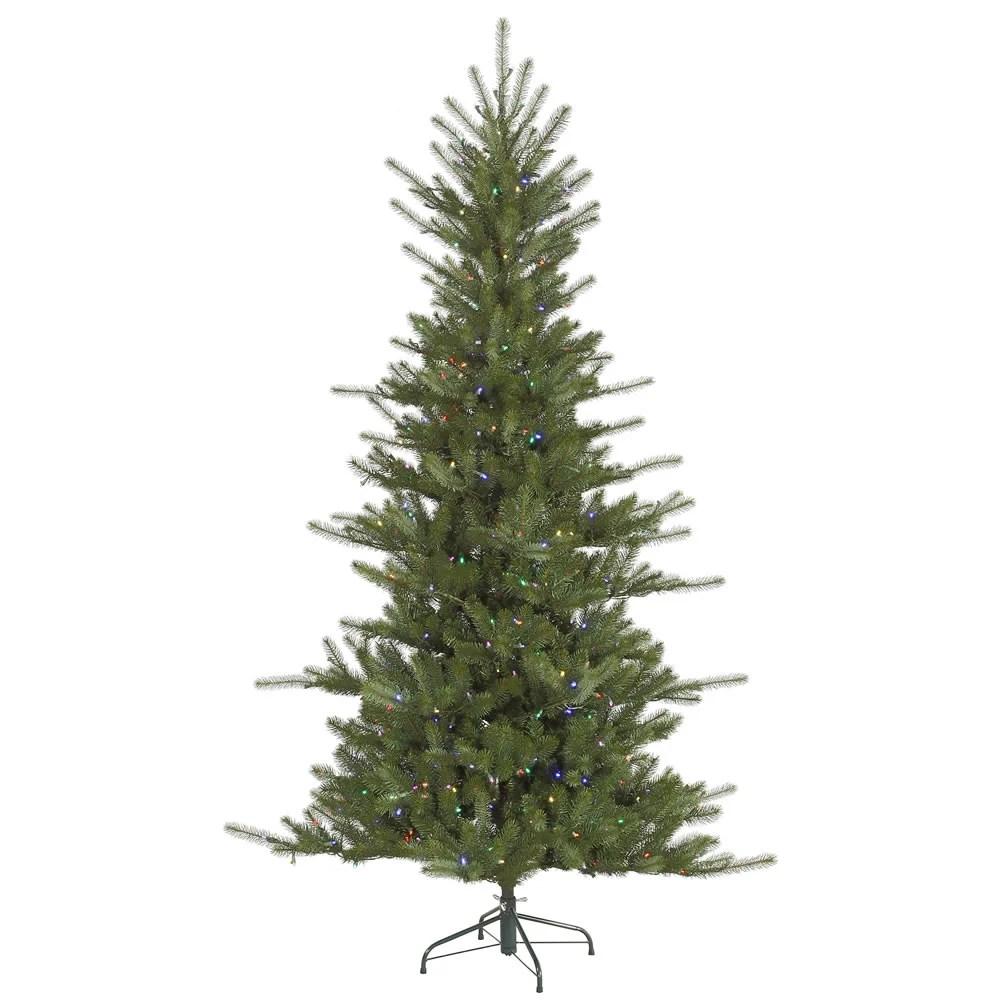 Led Slim Artificial Christmas Trees On Sale
