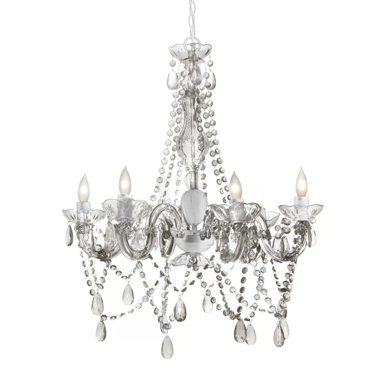 Three Cheers For Girls 6 Light Chandelier Amp Reviews