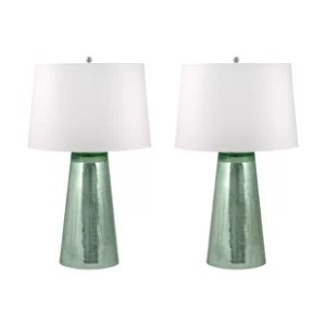 Mercury Glass Table Lamp Set   Wayfair Save
