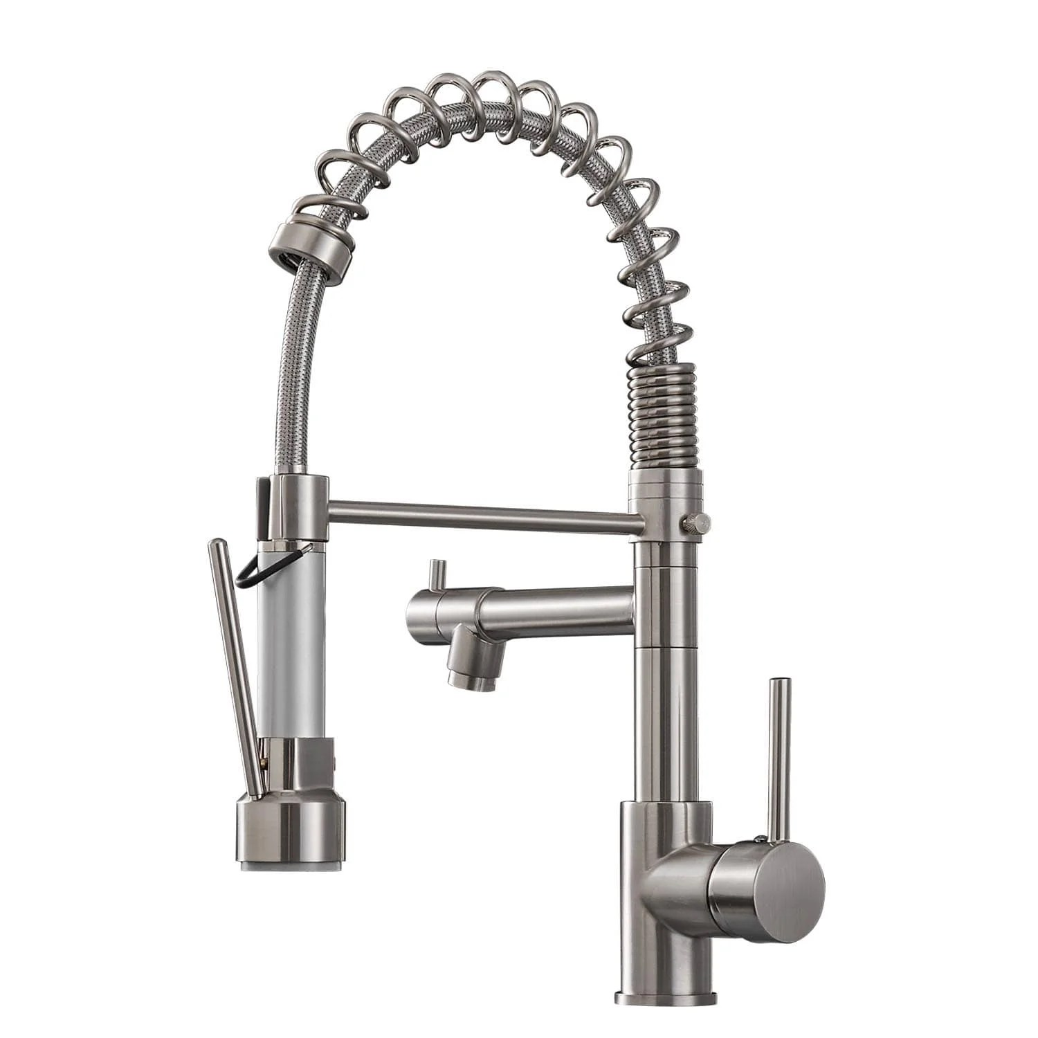commercial pull down kitchen sink faucet single handle modern kitchen faucets solid brass