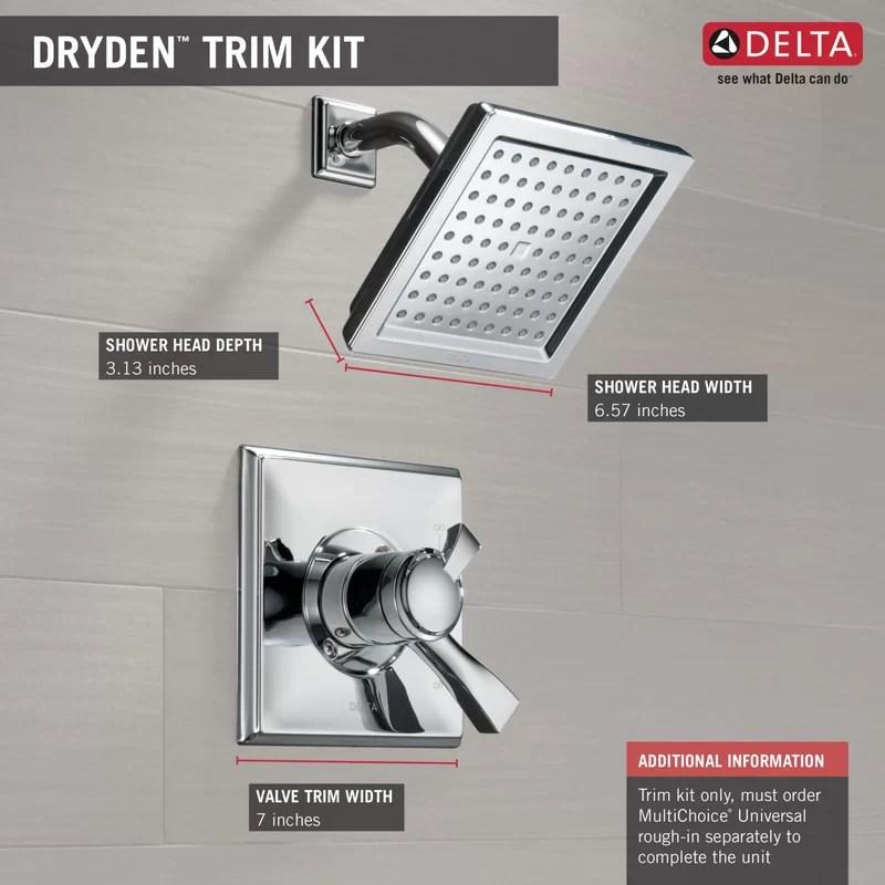 delta t17251 sp dryden 2 5 gpm shower