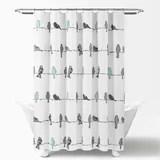 2 piece shower curtains wayfair