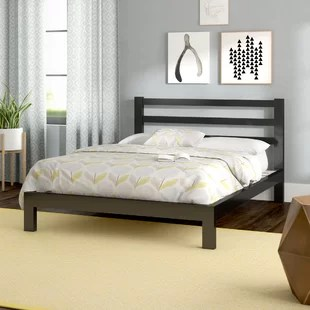 High Headboard Platform Bed   Wayfair Avey Platform Bed
