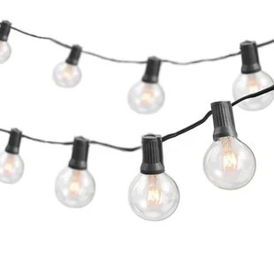 shoaf 50 outdoor 50 bulb globe string light end to end connectable