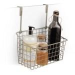 Rebrilliant Durso Towel Bar And Basket Cabinet Door Organizer Reviews Wayfair