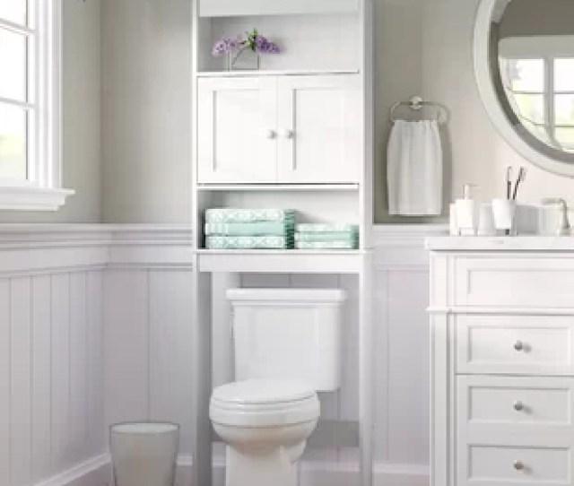23 25 W X 66 5 H Over The Toilet Storage