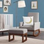 Mistana Nola Rocking Chair Ottoman Reviews Wayfair