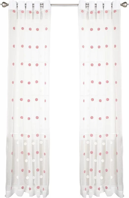 Grommet Style Curtains Industrial