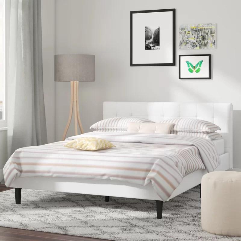 sinead queen upholstered platform bed