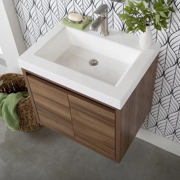 aleksei 25 wall mount single bathroom vanity set
