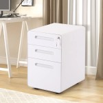 Inbox Zero File Cabinet Office Lock Design Fully Assembled Except Wheels Wayfair