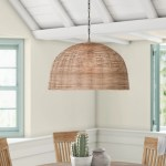 Wicker Rattan Pendant Lighting You Ll Love In 2021 Wayfair