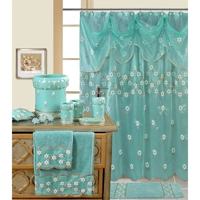 Blue Shower Curtains Youll Love In 2019 Wayfair