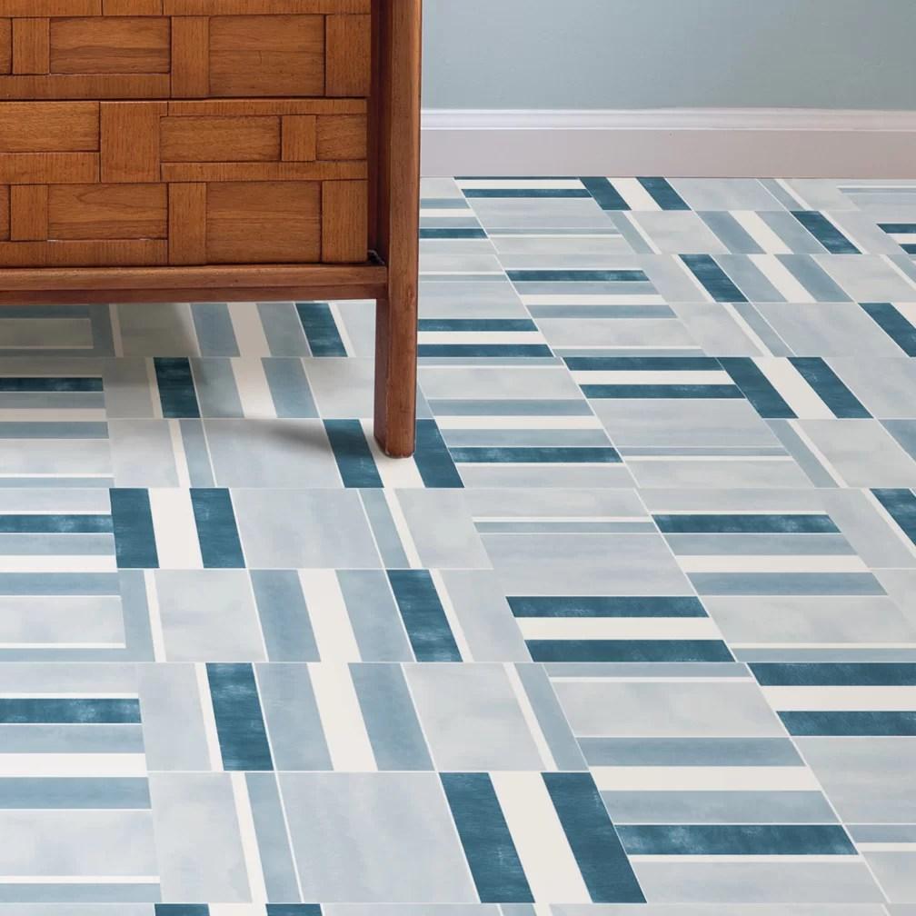 azure peel stick 12 x 12 x 0 06mm vinyl tile