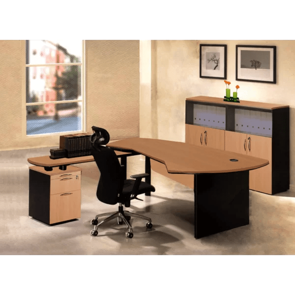 Executive Management 4 Piece Office Set By OfisELITE Bargain