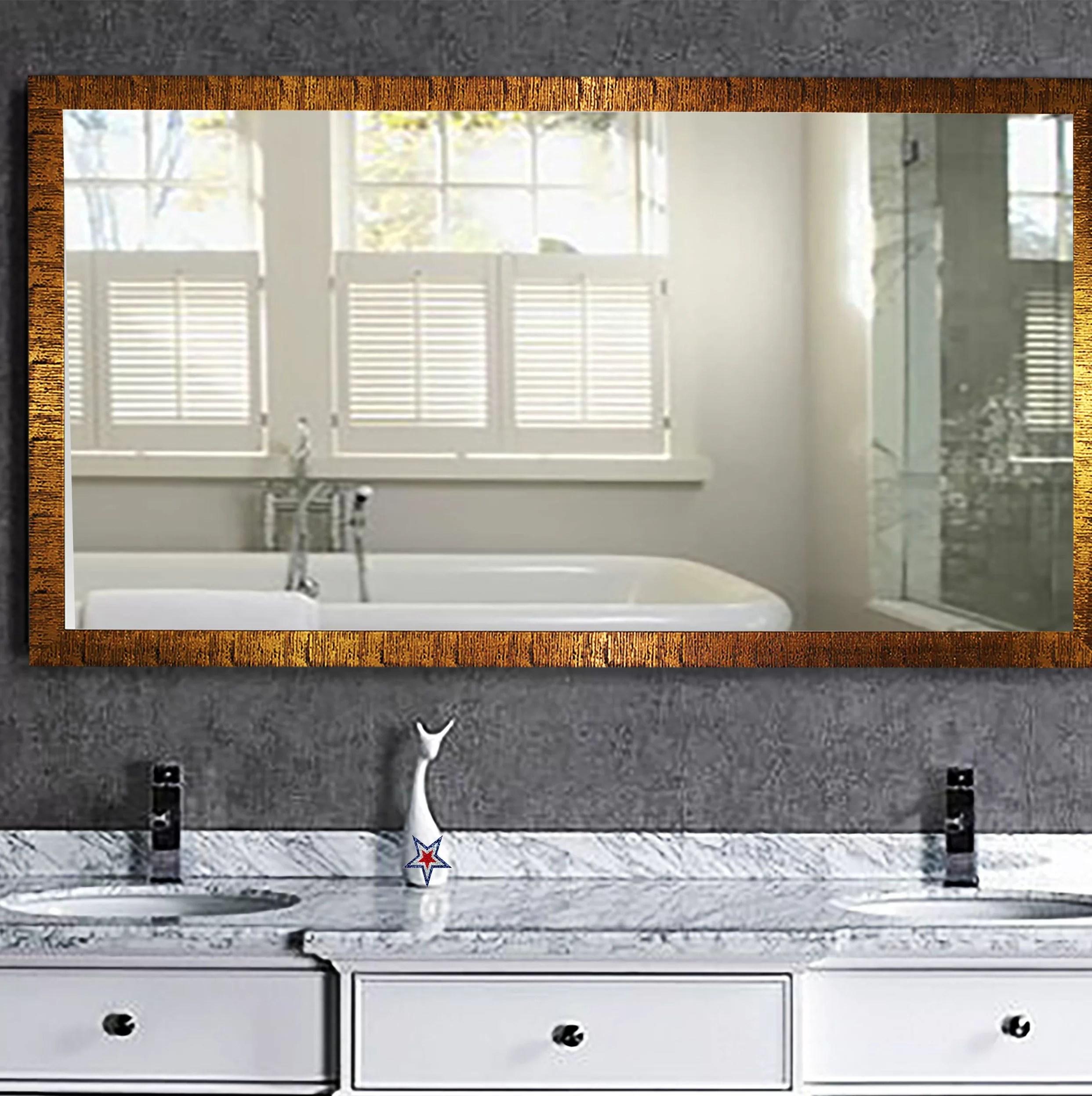 Eisen Modern Contemporary Bathroom Vanity Mirror