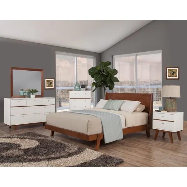 modern contemporary dresser and nightstand set