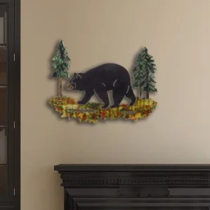 black bear bathroom decor | wayfair