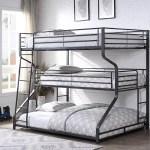Isabelle Max Katy Full Twin Queen Triple Bunk Bed Wayfair
