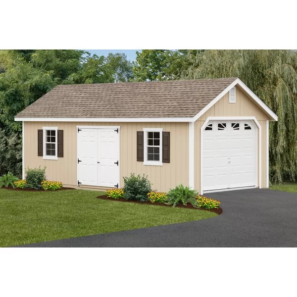 Garage Sheds Youll Love Wayfair
