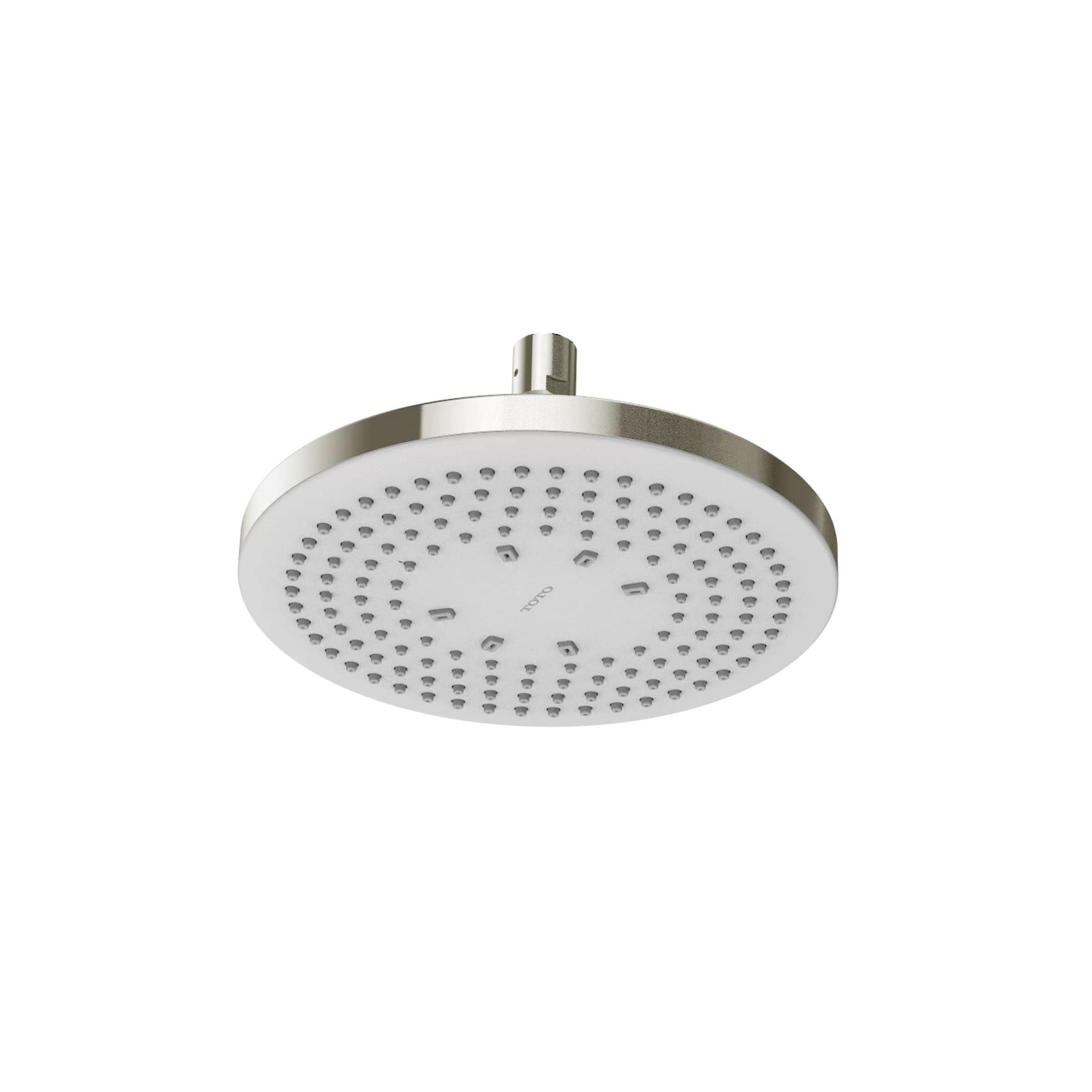 G Series Round Single Spray Rain Shower Head With Comfort Wave Technology