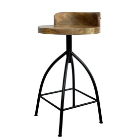 Molinaro Adjustable Height Bar Stool