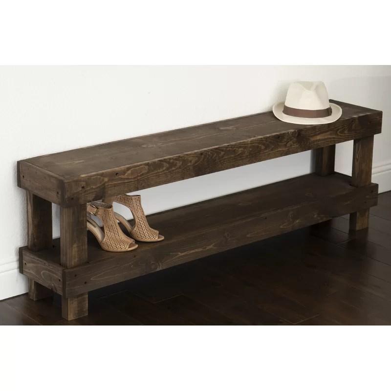 dark wood shoe rack cheaper than retail