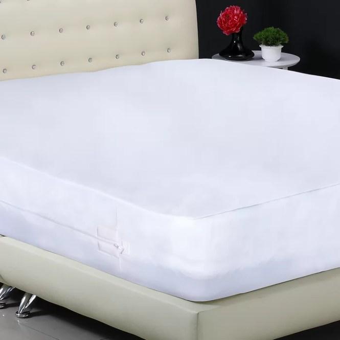 Aller Zip Smooth Anti Allergy And Bed Bug Proof Hypoallergenic Waterproof Mattress Protector