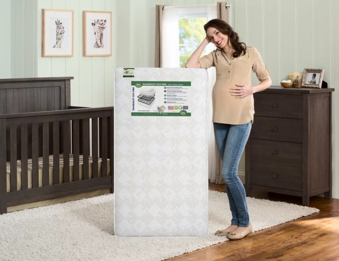Serta Tranquility Eco Firm 6 Crib And Toddler Mattress