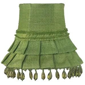 5 Silk Bell Candelabra Shade Set