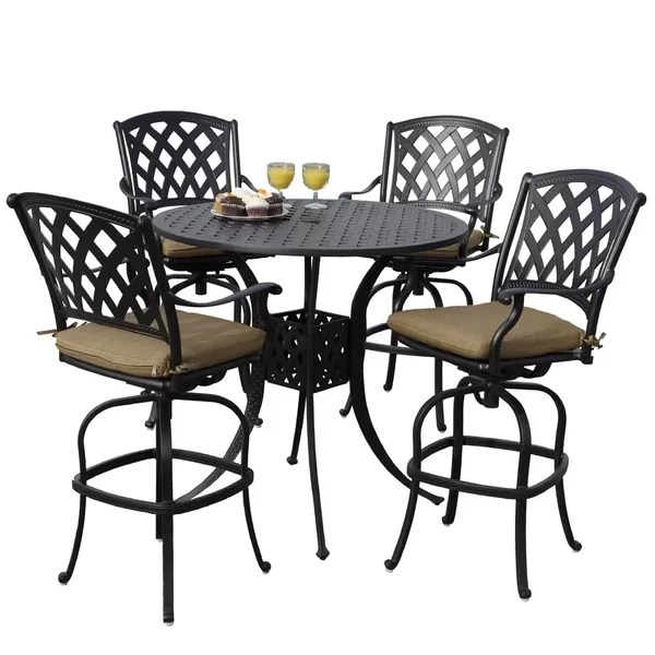 patio bar dining sets