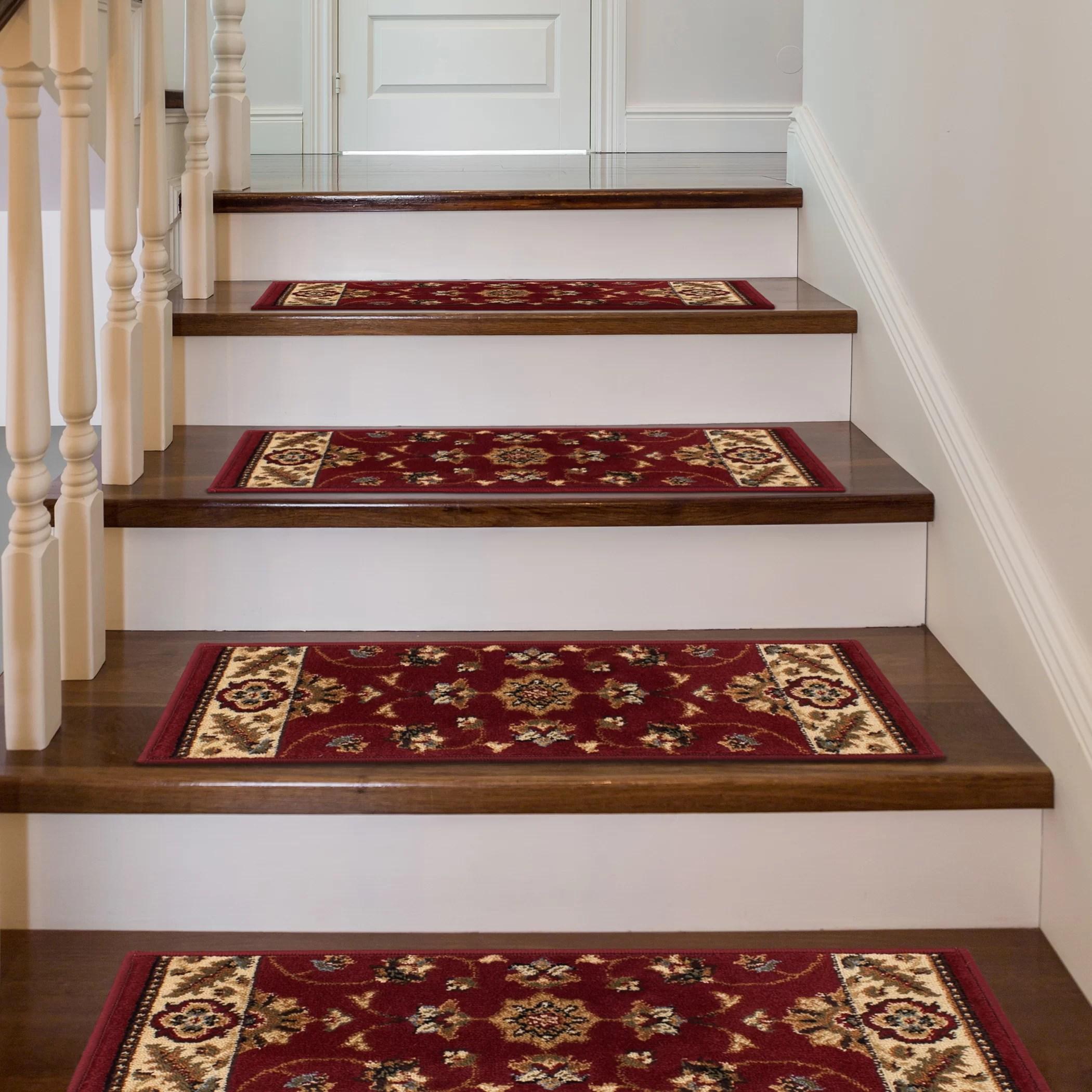 Astoria Grand Athol Stair Tread Reviews Wayfair | Plush Carpet Stair Treads | True Bullnose Carpet | Super Soft | Anti Slip | Wool Carpet | Wall Carpet