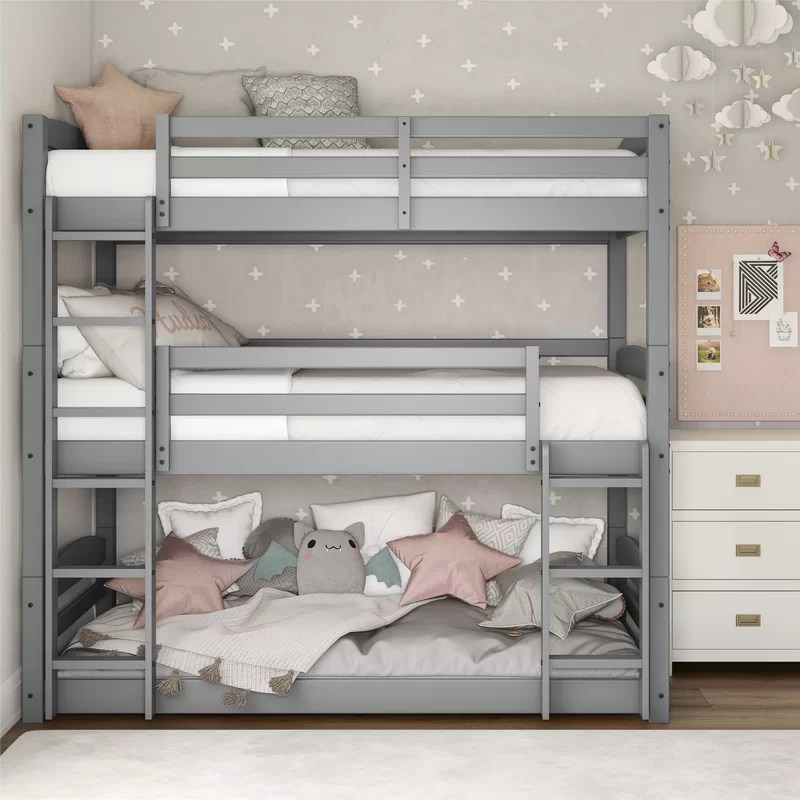Moorcroft Twin over Twin over Twin Bed Triple Bed