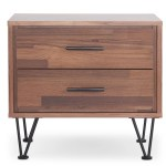 Wolfe 2 Drawer Nightstand