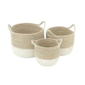 Seagrass 3 Piece Basket Set
