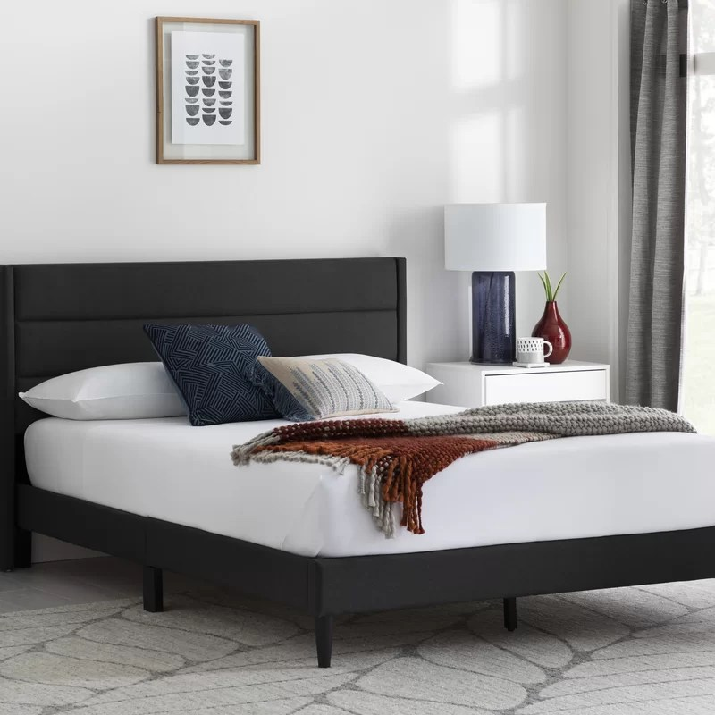 Annaalicia Upholstered Low Profile Platform Bed