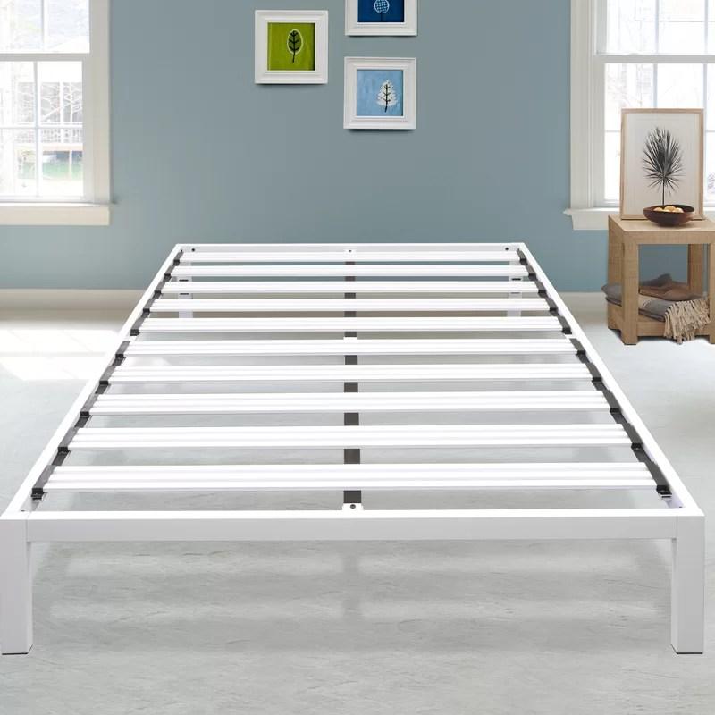 virgilina 14 steel platform bed