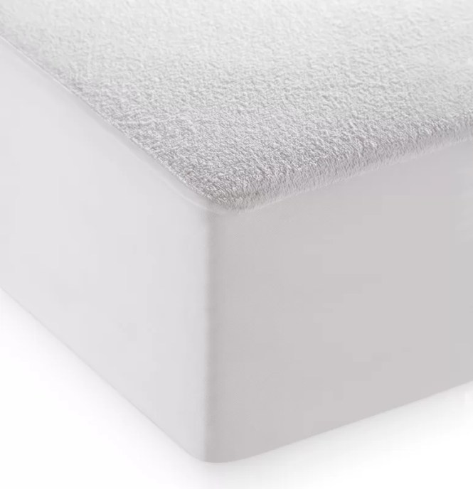 Comfort Terry And Breathable Hypoallergenic Waterproof Mattress Protector
