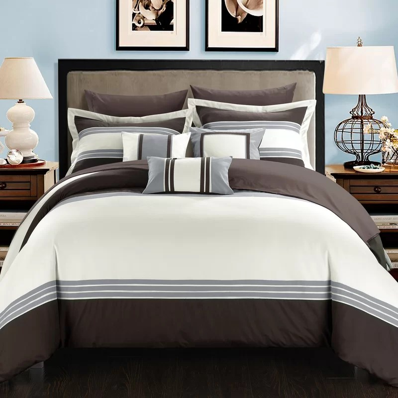 Chic Home Falcon Hotel 10 Piece Comforter Set Amp Reviews Wayfair