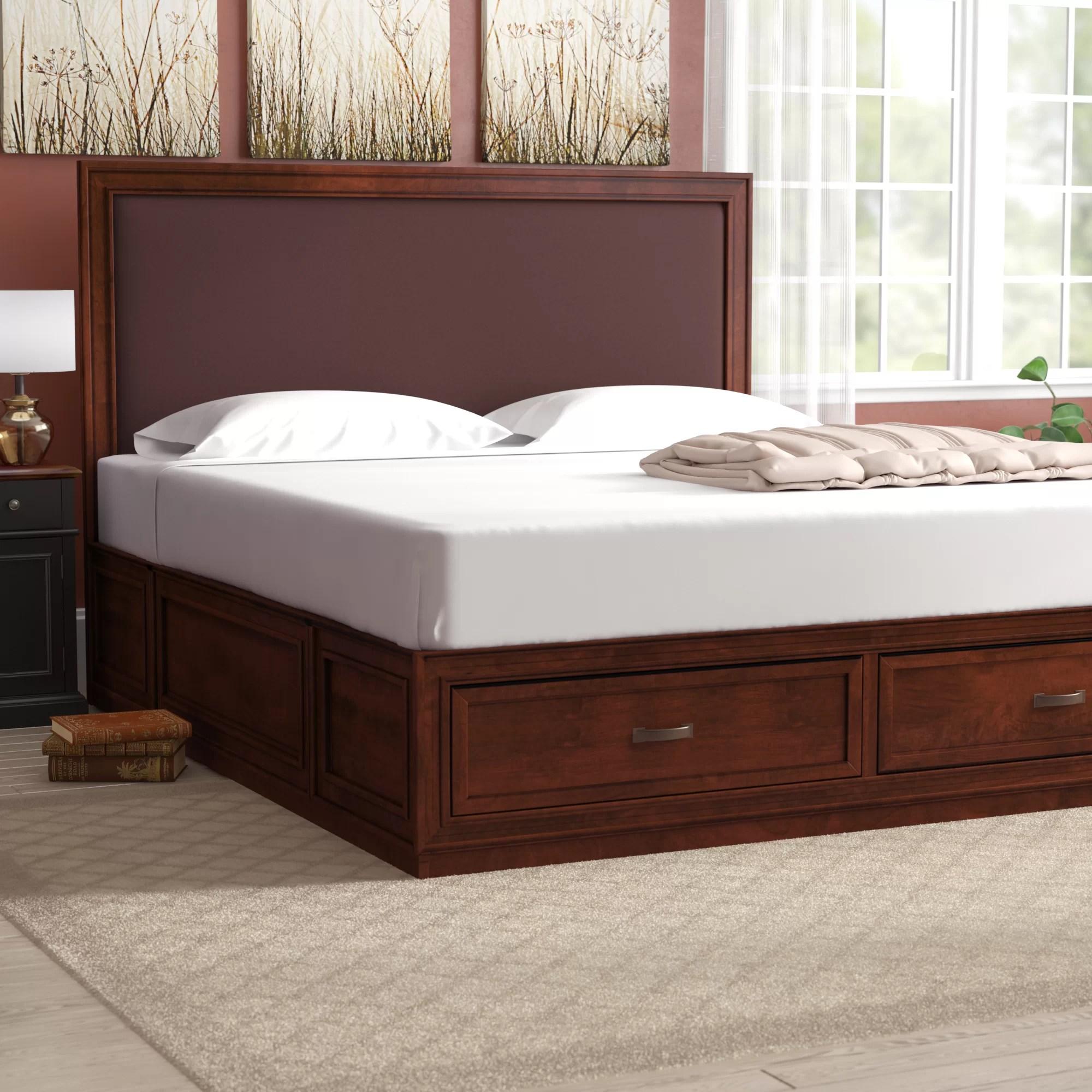 Darby Home Co Myra King Upholsteredstorage Platform Bed