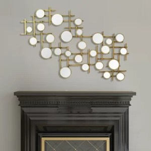 Mirror Cluster Wall Decor   Wayfair Elegant Mirror Cluster Wall D    cor