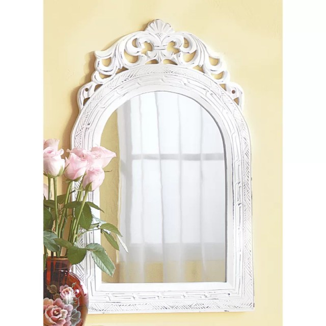 Contemporary Vertical Arched Wall Mirror