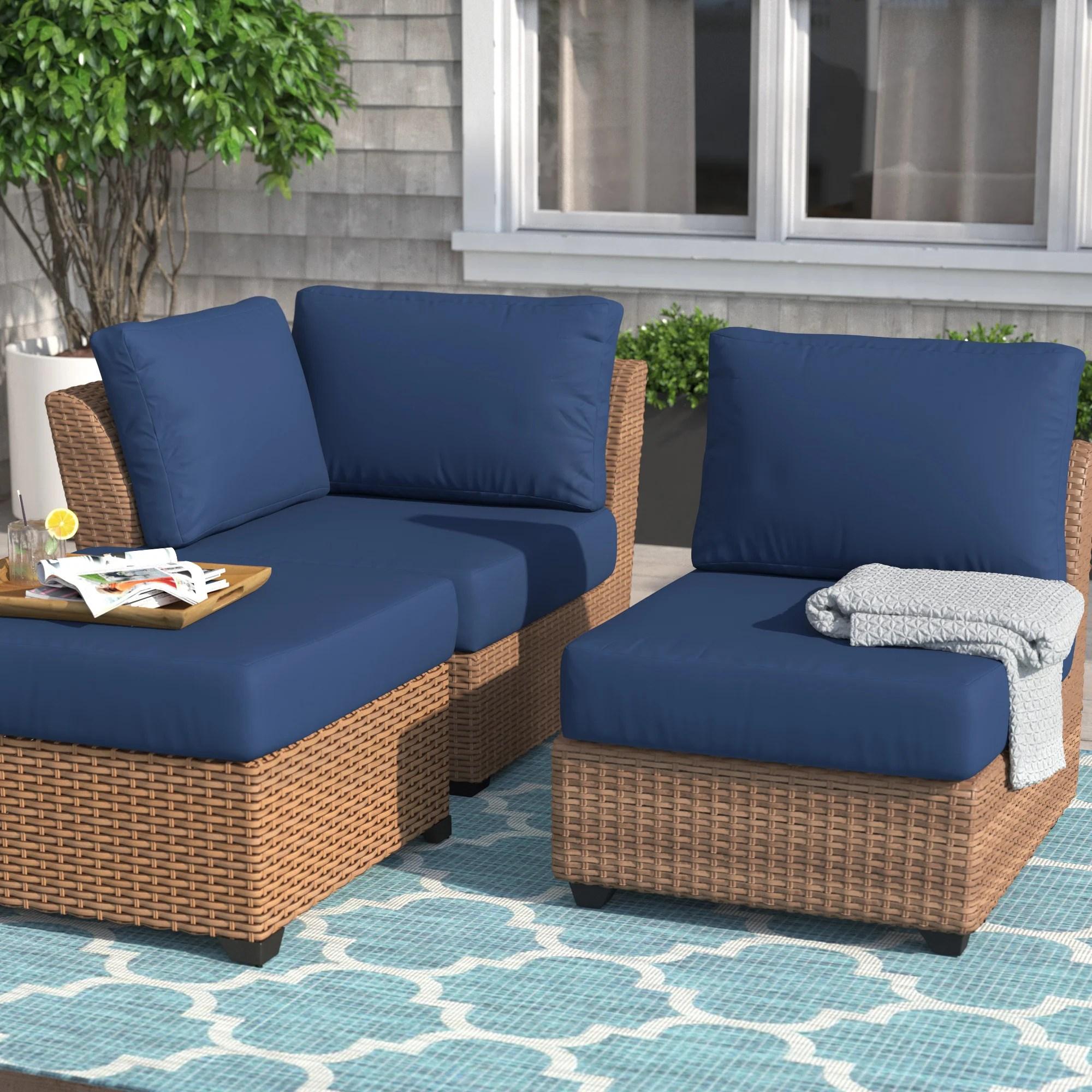 tegan indoor outdoor seat back cushion set
