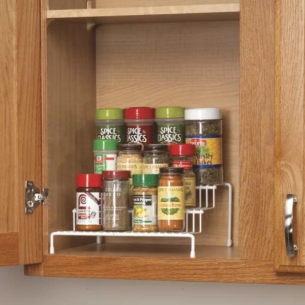 cabinet spice rack