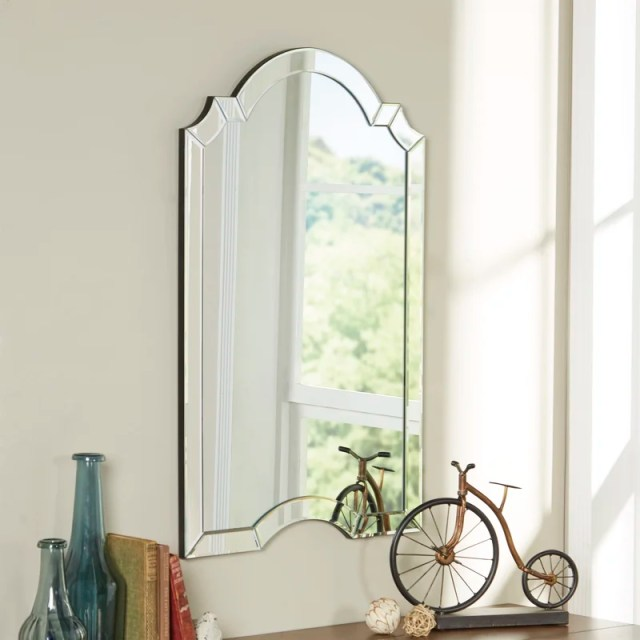 Ekaterina Arch/Crowned Top Wall Mirror
