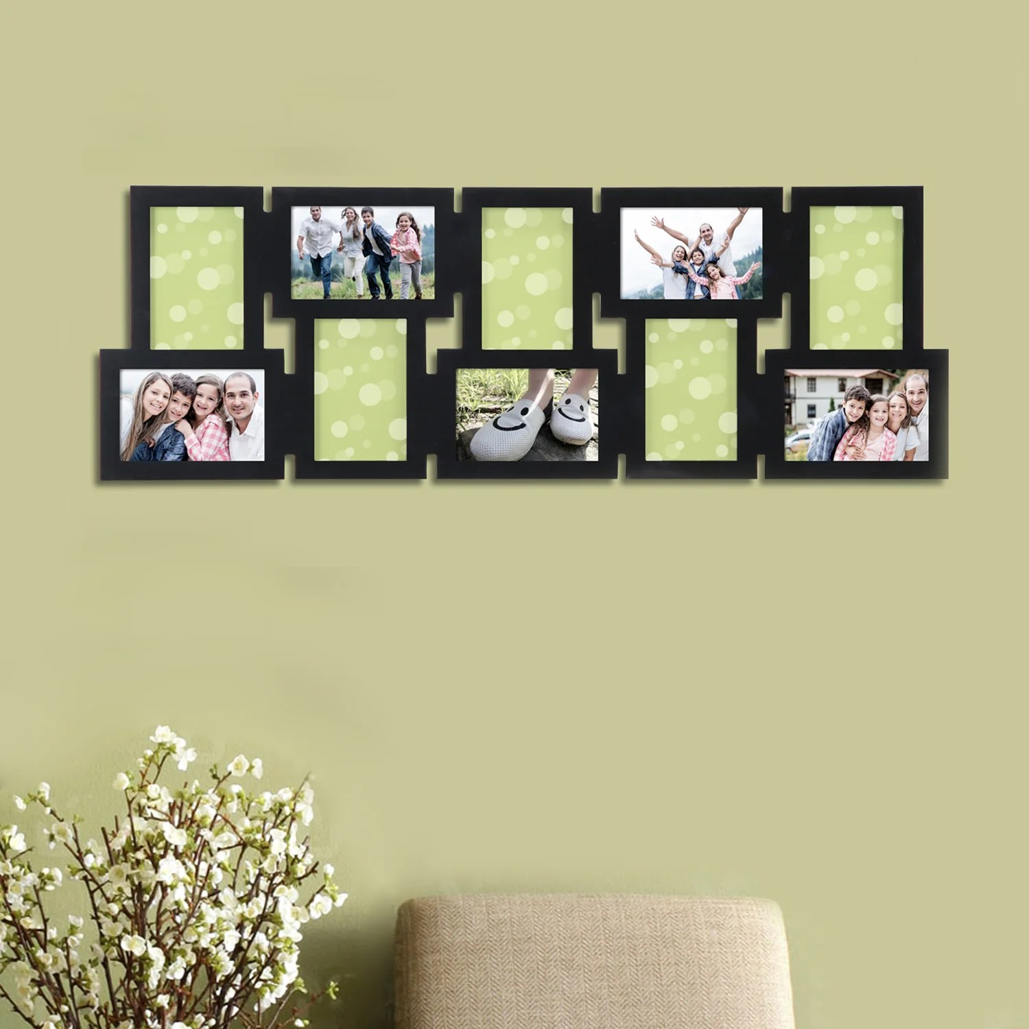 Modern Ideas For Hanging Pictures On Wall Without Frames Vignette ...