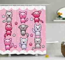 Anime Decor Funny Japanese Shower Curtain Hooks